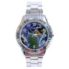 Chihuly Garden Bumble Stainless Steel Analogue Watch