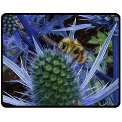 Chihuly Garden Bumble Double Sided Fleece Blanket (medium)