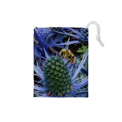 Chihuly Garden Bumble Drawstring Pouches (small)