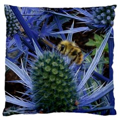 Chihuly Garden Bumble Standard Flano Cushion Case (one Side)