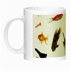 Goldfish Night Luminous Mugs