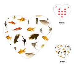 Goldfish Playing Cards (heart)