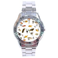 Goldfish Stainless Steel Analogue Watch