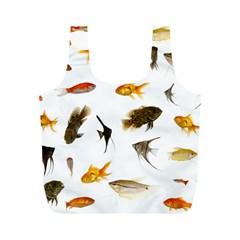 Goldfish Full Print Recycle Bags (m)