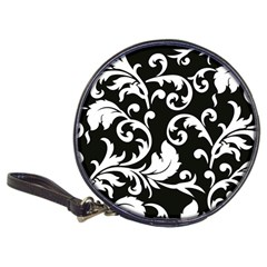 Vector Classicaltr Aditional Black And White Floral Patterns Classic 20 Cd Wallets