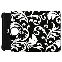 Vector Classicaltr Aditional Black And White Floral Patterns Kindle Fire Hd 7