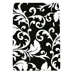 Vector Classicaltr Aditional Black And White Floral Patterns Flap Covers (l)