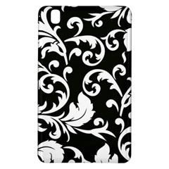 Vector Classicaltr Aditional Black And White Floral Patterns Samsung Galaxy Tab Pro 8 4 Hardshell Case