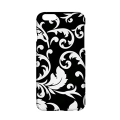 Vector Classicaltr Aditional Black And White Floral Patterns Apple Iphone 6/6s Hardshell Case