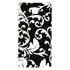 Vector Classicaltr Aditional Black And White Floral Patterns Galaxy Note 4 Back Case