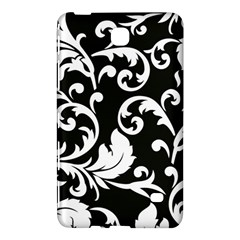 Vector Classicaltr Aditional Black And White Floral Patterns Samsung Galaxy Tab 4 (8 ) Hardshell Case