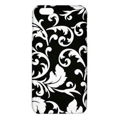 Vector Classicaltr Aditional Black And White Floral Patterns Iphone 6 Plus/6s Plus Tpu Case
