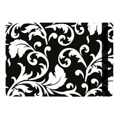 Vector Classicaltr Aditional Black And White Floral Patterns Apple Ipad Pro 10 5   Flip Case