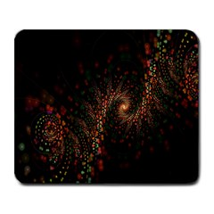 Multicolor Fractals Digital Art Design Large Mousepads
