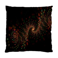 Multicolor Fractals Digital Art Design Standard Cushion Case (two Sides)