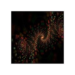 Multicolor Fractals Digital Art Design Acrylic Tangram Puzzle (4  X 4 )