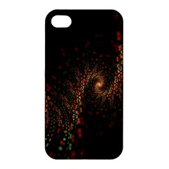 Multicolor Fractals Digital Art Design Apple Iphone 4/4s Premium Hardshell Case