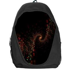 Multicolor Fractals Digital Art Design Backpack Bag