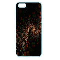 Multicolor Fractals Digital Art Design Apple Seamless Iphone 5 Case (color)