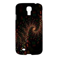 Multicolor Fractals Digital Art Design Samsung Galaxy S4 I9500/i9505 Hardshell Case