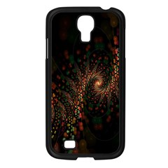 Multicolor Fractals Digital Art Design Samsung Galaxy S4 I9500/ I9505 Case (black)