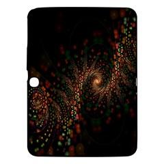 Multicolor Fractals Digital Art Design Samsung Galaxy Tab 3 (10 1 ) P5200 Hardshell Case
