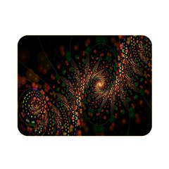 Multicolor Fractals Digital Art Design Double Sided Flano Blanket (mini)