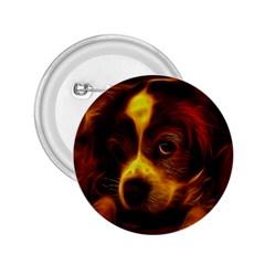 Cute 3d Dog 2 25  Buttons