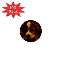 Cute 3d Dog 1  Mini Buttons (100 Pack)