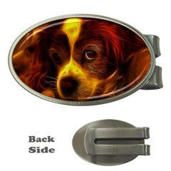 Cute 3d Dog Money Clips (oval)