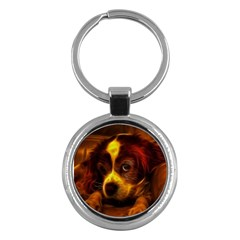 Cute 3d Dog Key Chains (round)