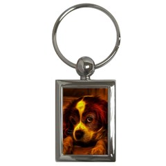Cute 3d Dog Key Chains (rectangle)
