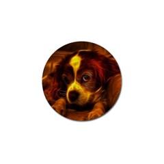 Cute 3d Dog Golf Ball Marker (4 Pack)