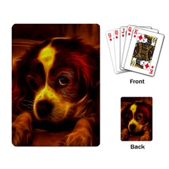 Cute 3d Dog Playing Card