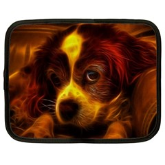 Cute 3d Dog Netbook Case (xxl)