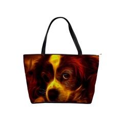 Cute 3d Dog Shoulder Handbags