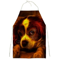 Cute 3d Dog Full Print Aprons
