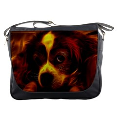 Cute 3d Dog Messenger Bags