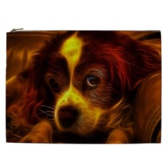 Cute 3d Dog Cosmetic Bag (xxl)
