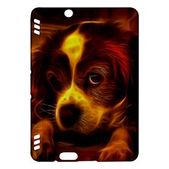 Cute 3d Dog Kindle Fire Hdx Hardshell Case
