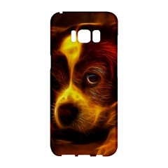 Cute 3d Dog Samsung Galaxy S8 Hardshell Case