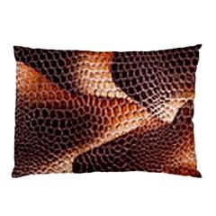 Snake Python Skin Pattern Pillow Case