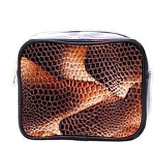 Snake Python Skin Pattern Mini Toiletries Bags