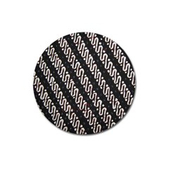 Batik Jarik Parang Magnet 3  (round)