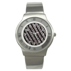 Batik Jarik Parang Stainless Steel Watch