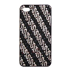 Batik Jarik Parang Apple Iphone 4/4s Seamless Case (black)