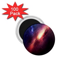 Digital Space Universe 1 75  Magnets (100 Pack)