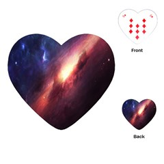 Digital Space Universe Playing Cards (heart)