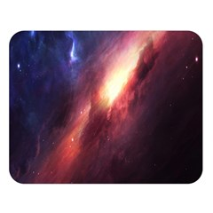 Digital Space Universe Double Sided Flano Blanket (large)