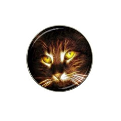 Cat Face Hat Clip Ball Marker (4 Pack)